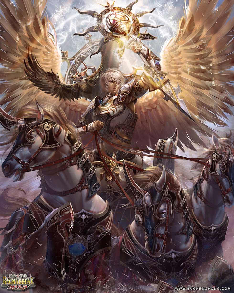 19 fantasy art yuchenghong