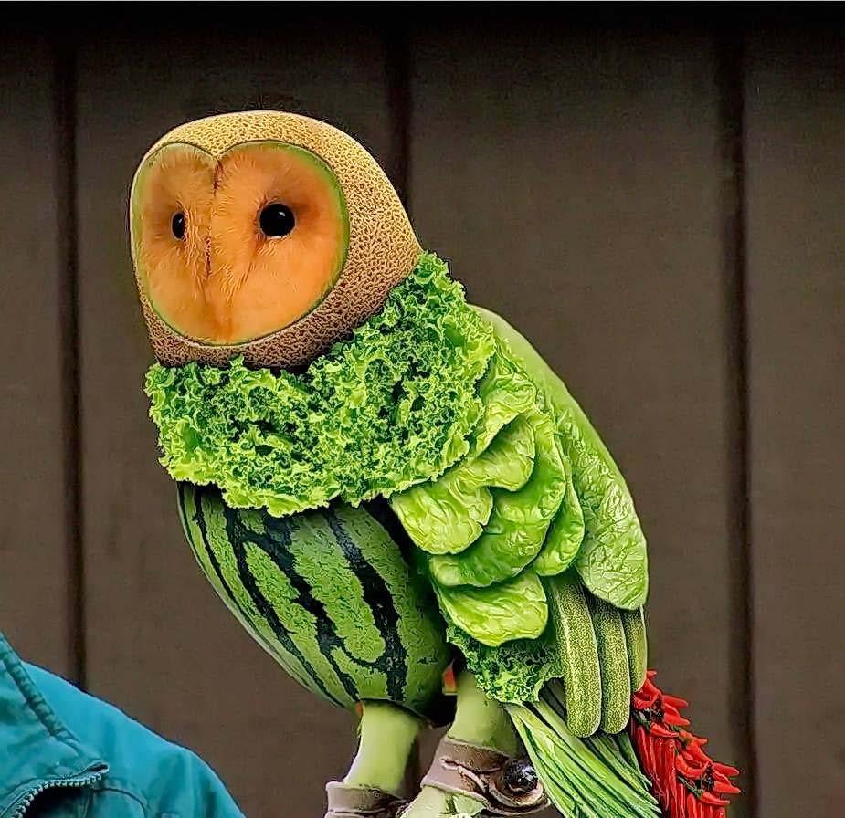 vegetable carvings