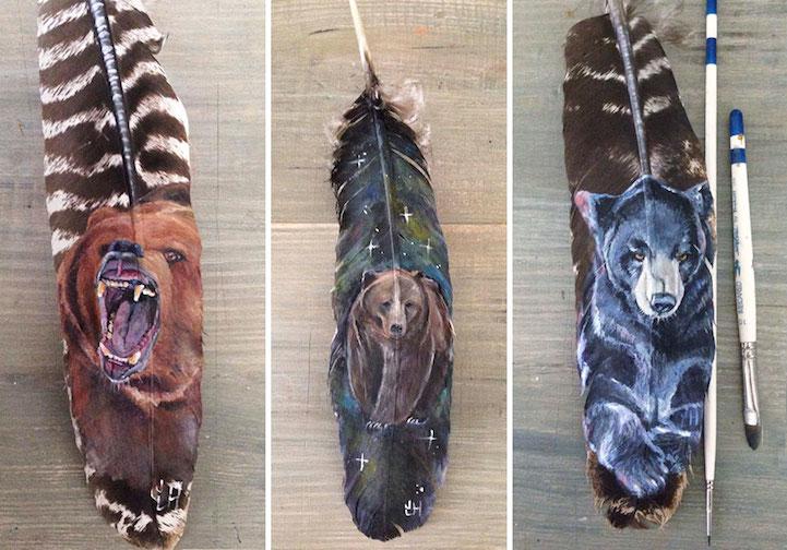 bear paintings jamie