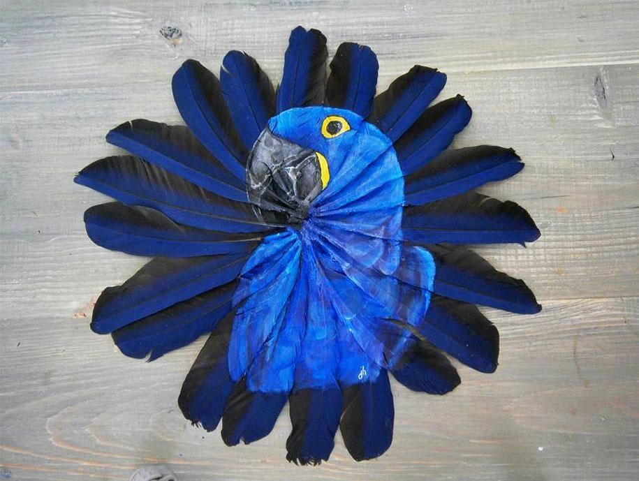 blue bird paintings jamie