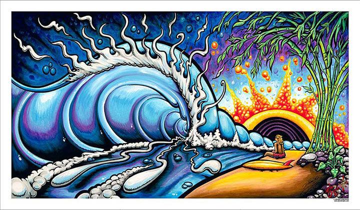 dreamland oil paintings drew