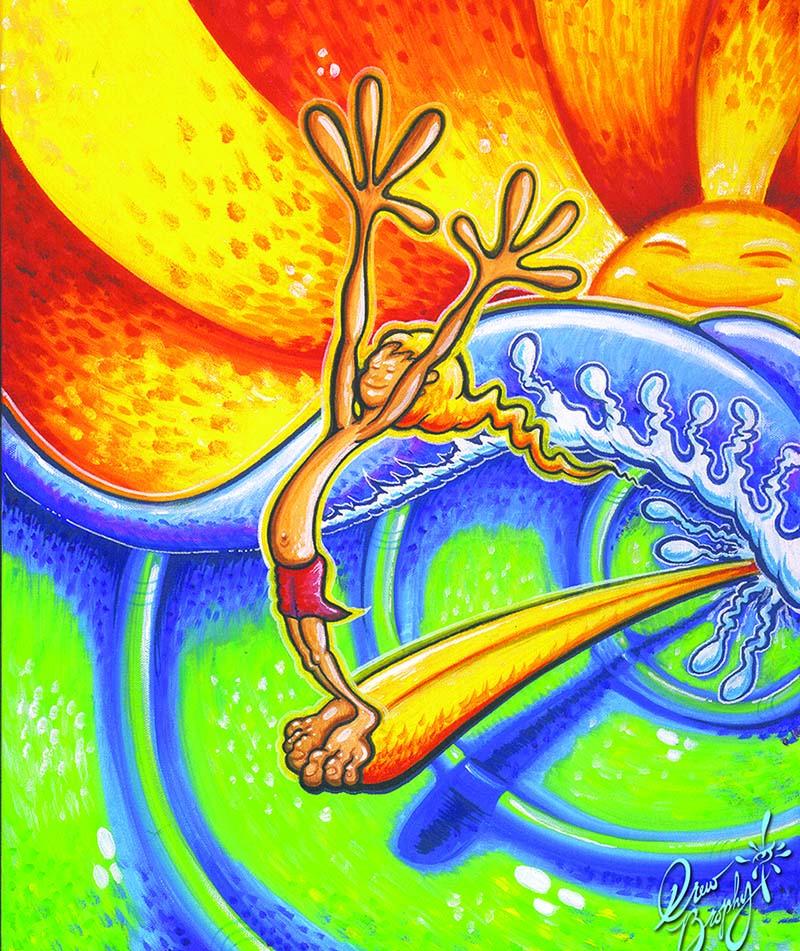 joy oil paintings drew