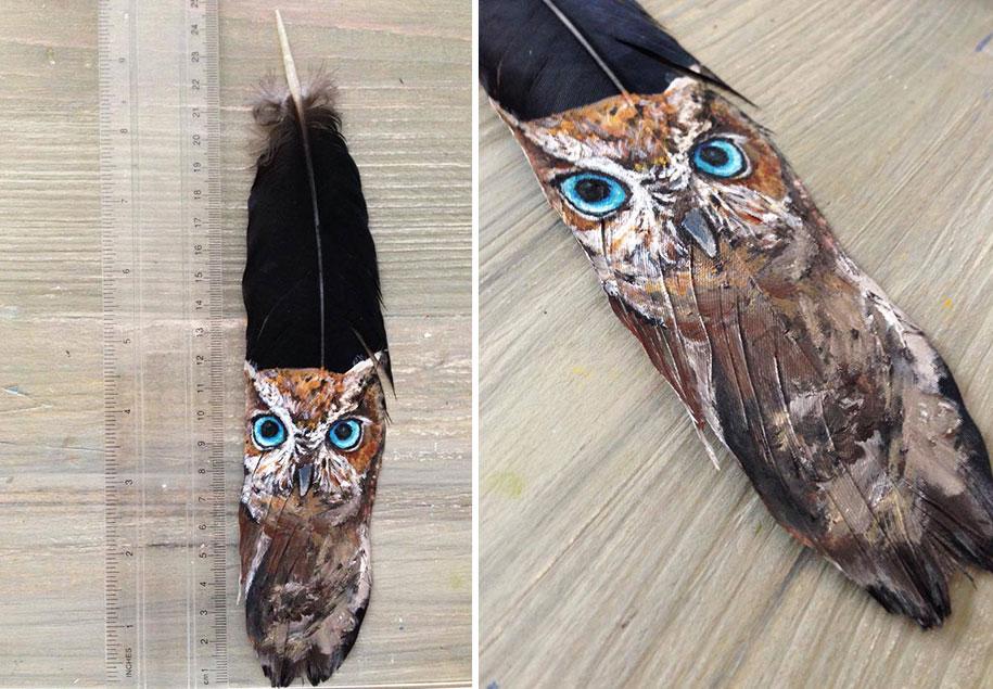 owl eye paintings jamie