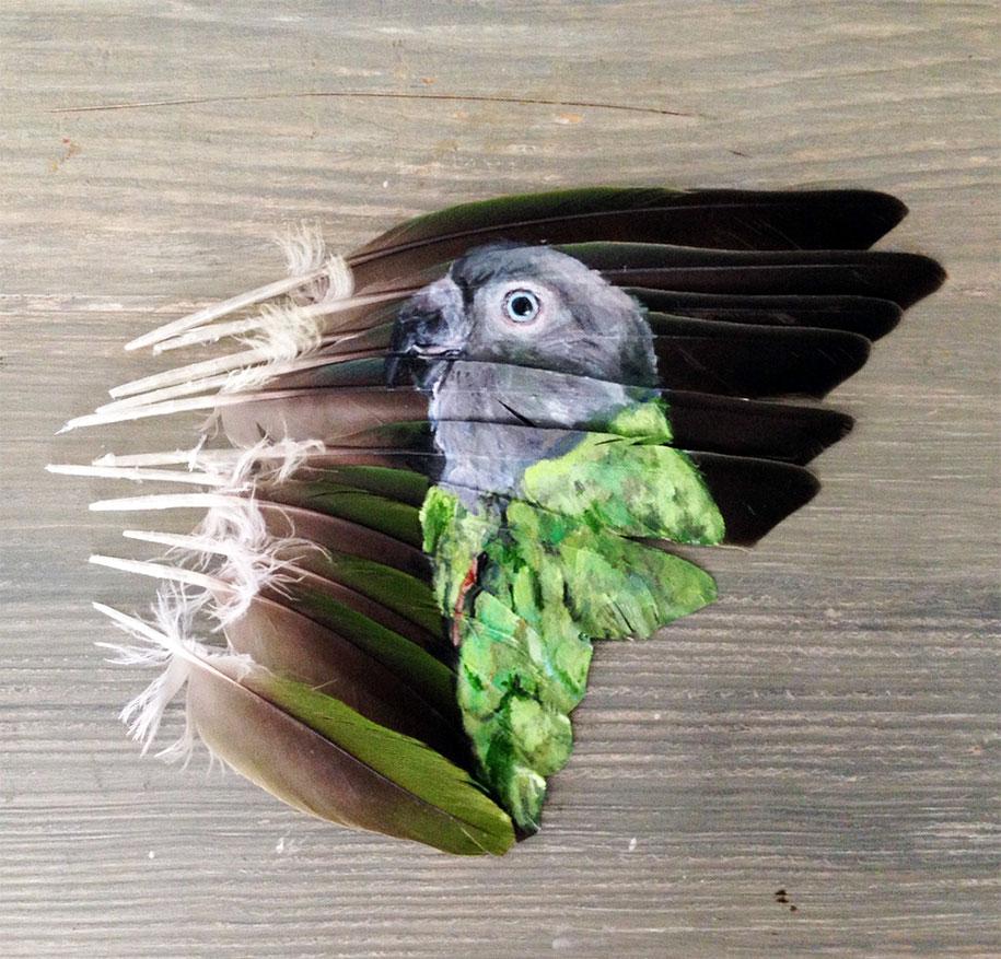 parrot paintings jamie