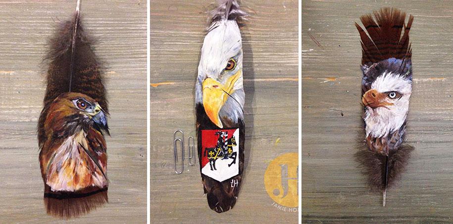 white birds paintings jamie