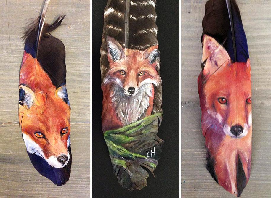 wolf paintings jamie