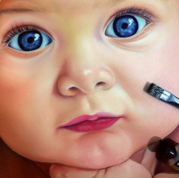 baby pencil drawing by ayman