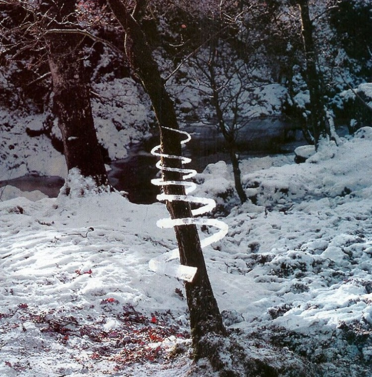 creative art ideas ice andy goldsworthy