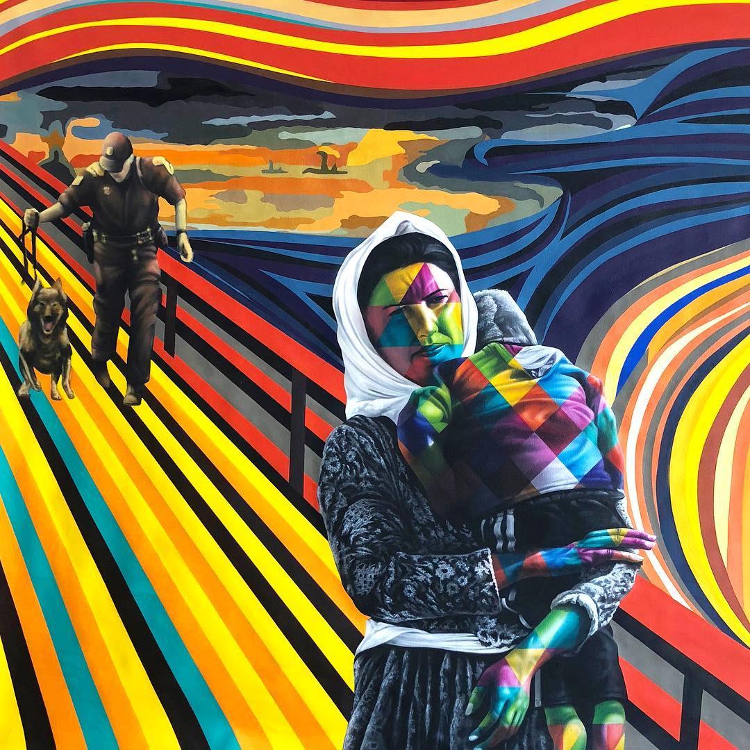 street art family eduardo kobra