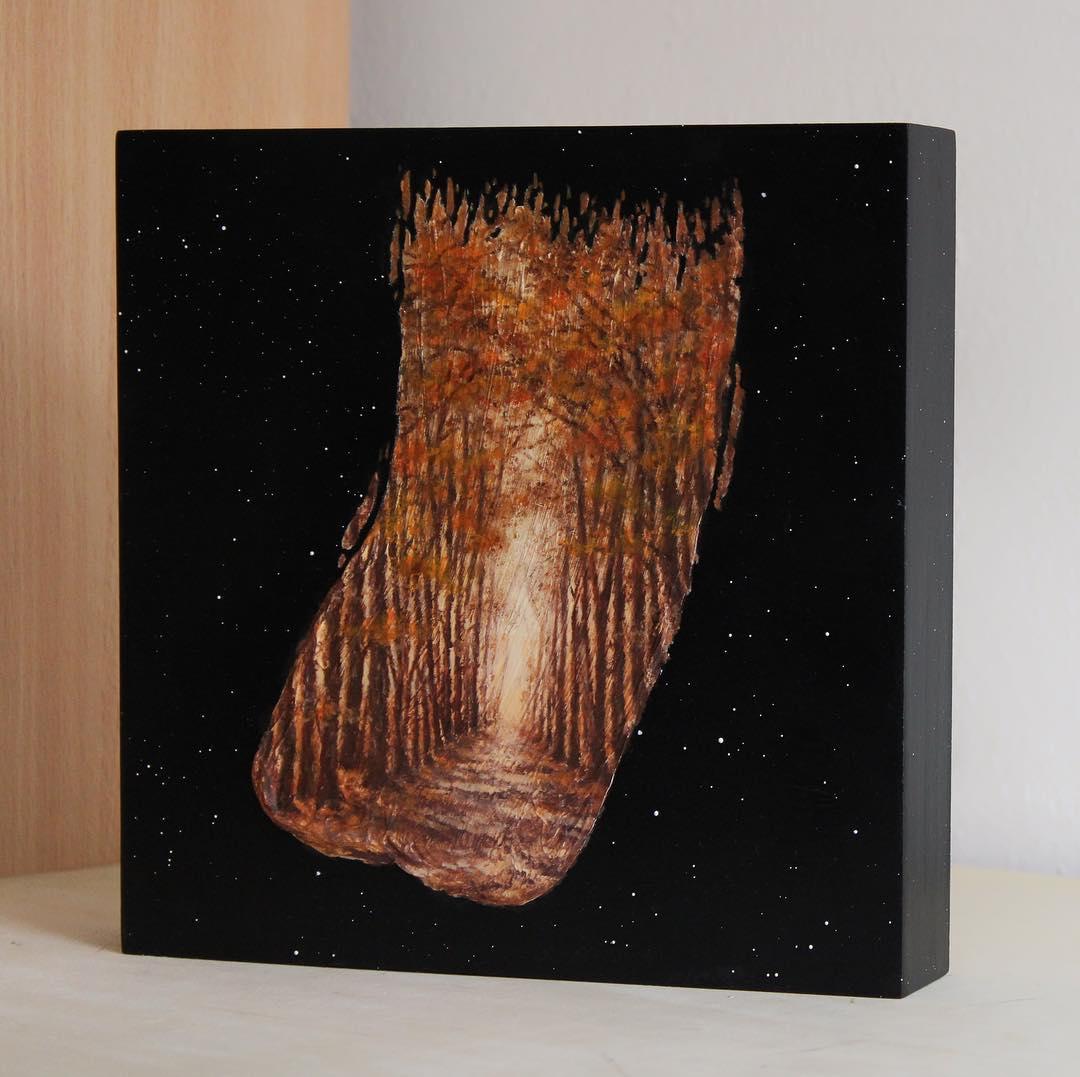 amazing paintings woods david ambarzumjan