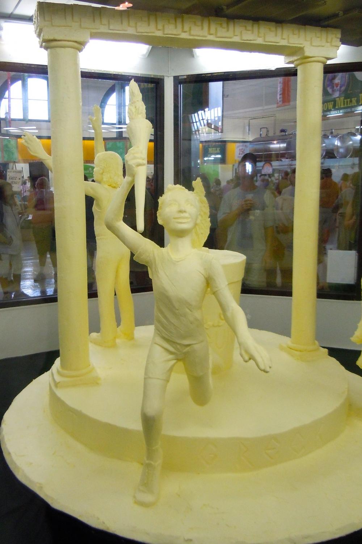 butter sculpture olympics ironmike9