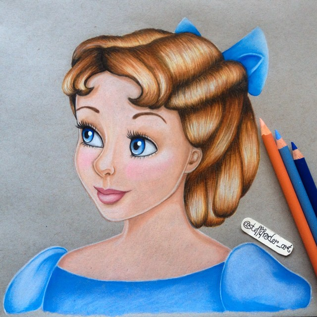 child color pencil drawings by stephanie frederick