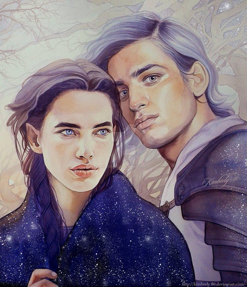 couple watercolor paintings by kimberly