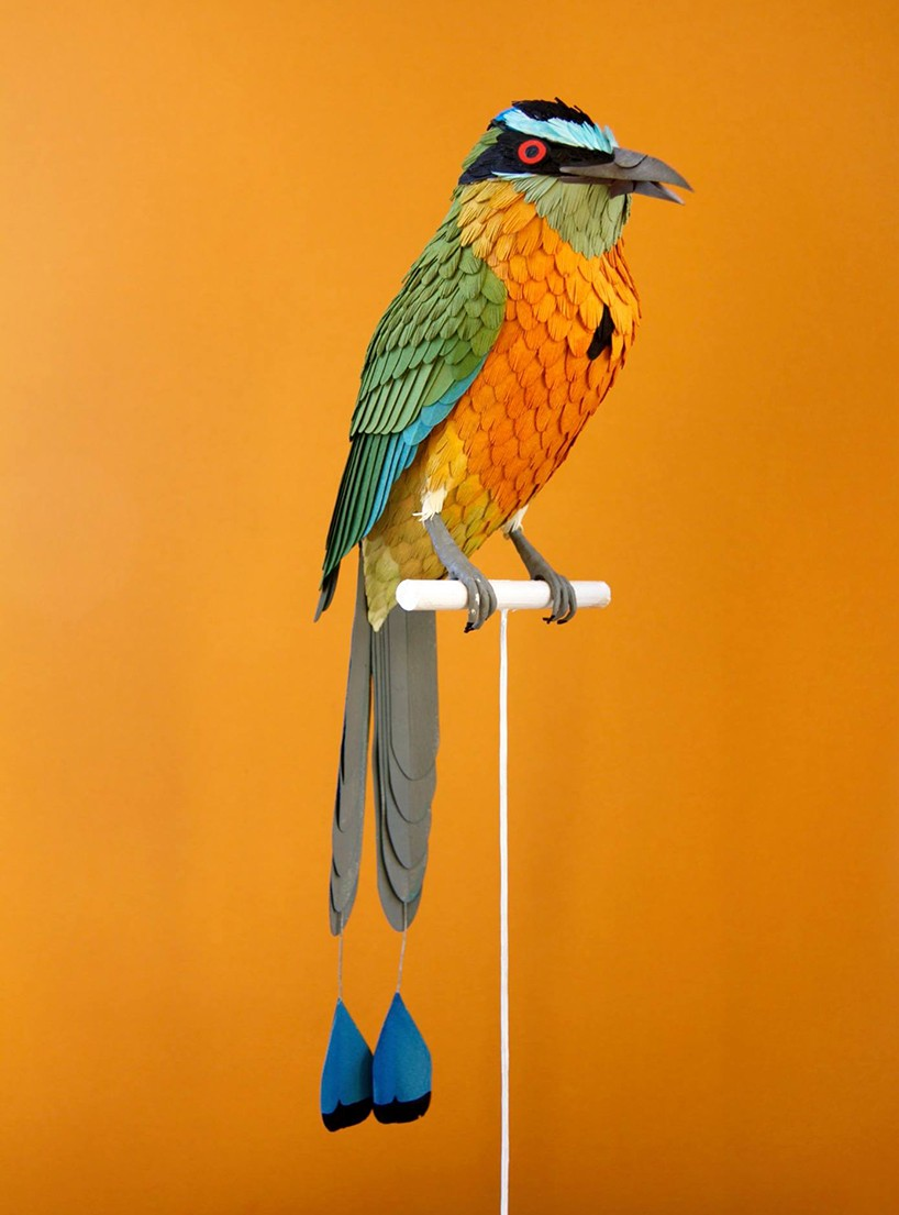bird paper sculptures by diana_0