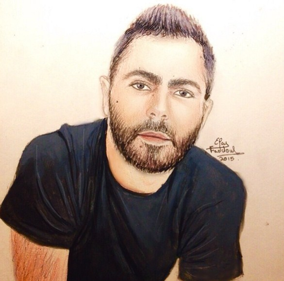 men color pencil drawings by elcy faddoul