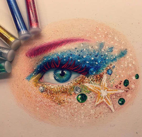 eye color pencil drawings by elcy faddoul