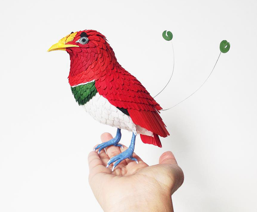 king bird bird paper sculptures by diana