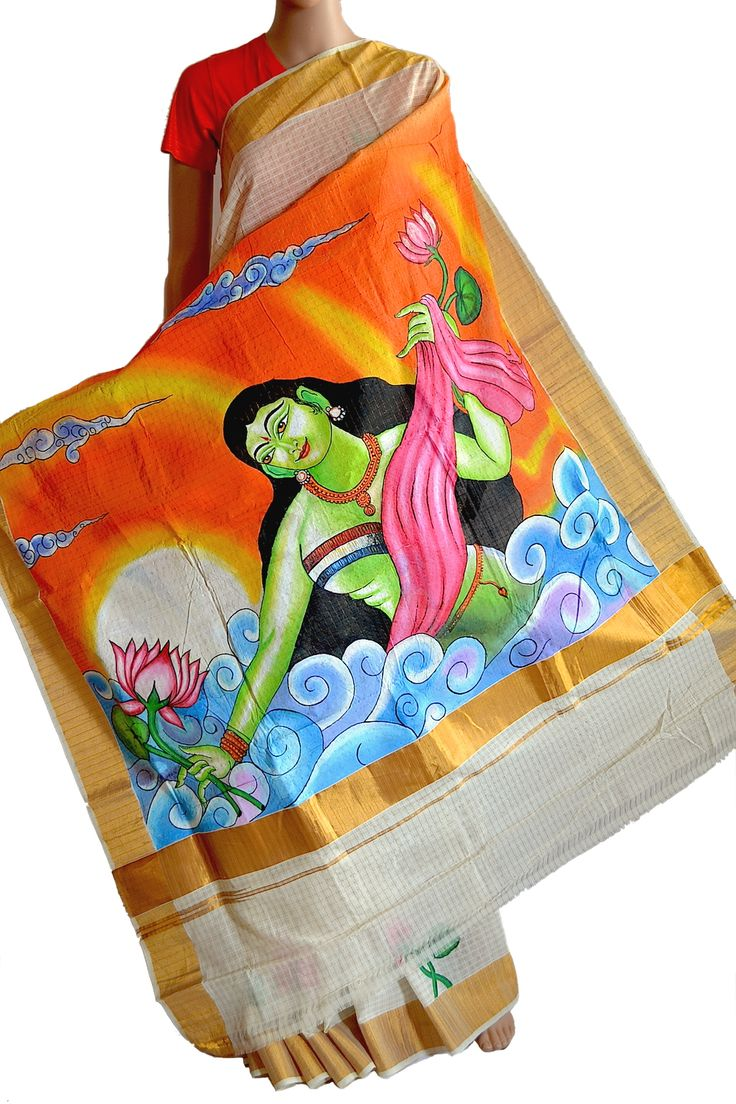 How to do mural paintings on fabric for Classic mural painting