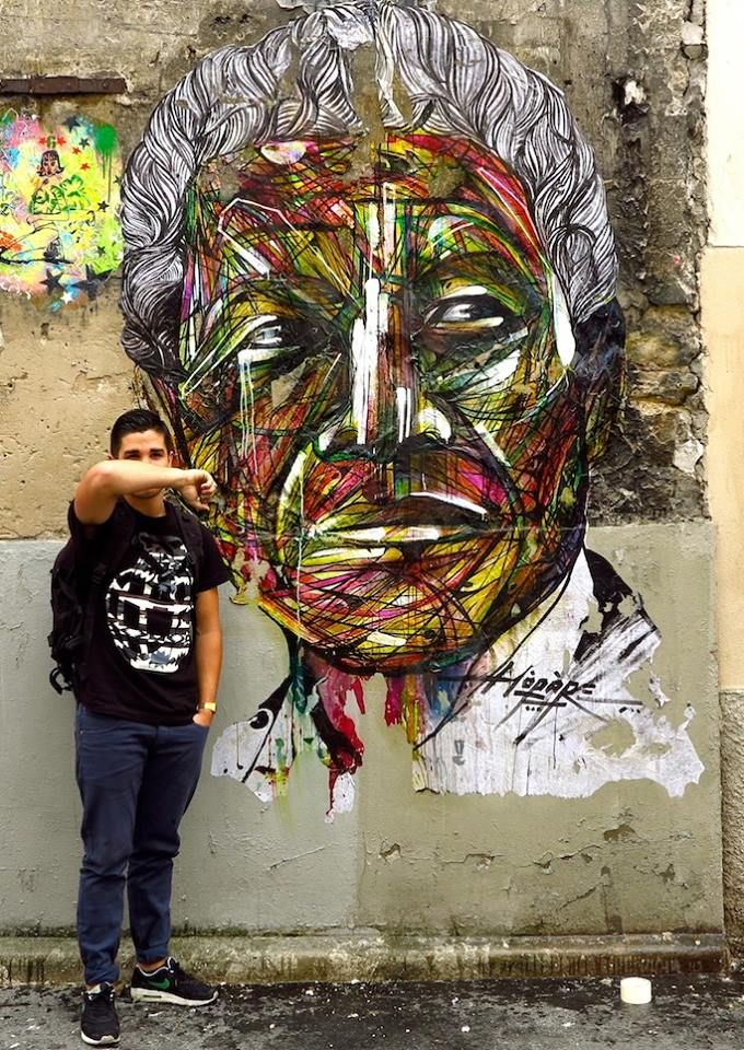 street art by hopare