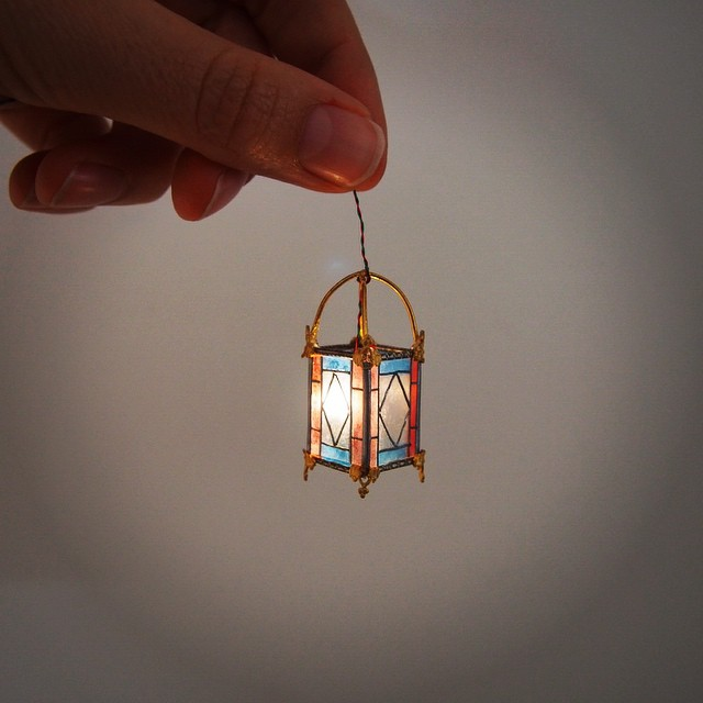 bulb miniature sculptures by emily boutard
