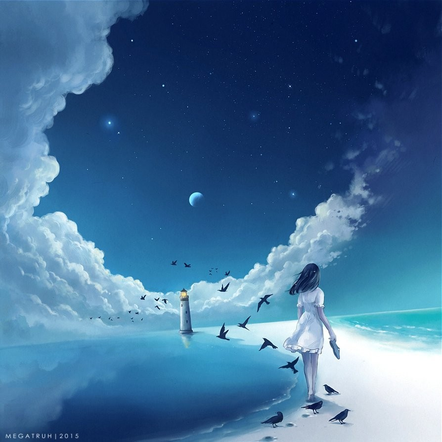 chimerical pixiv digital art by niken anindita