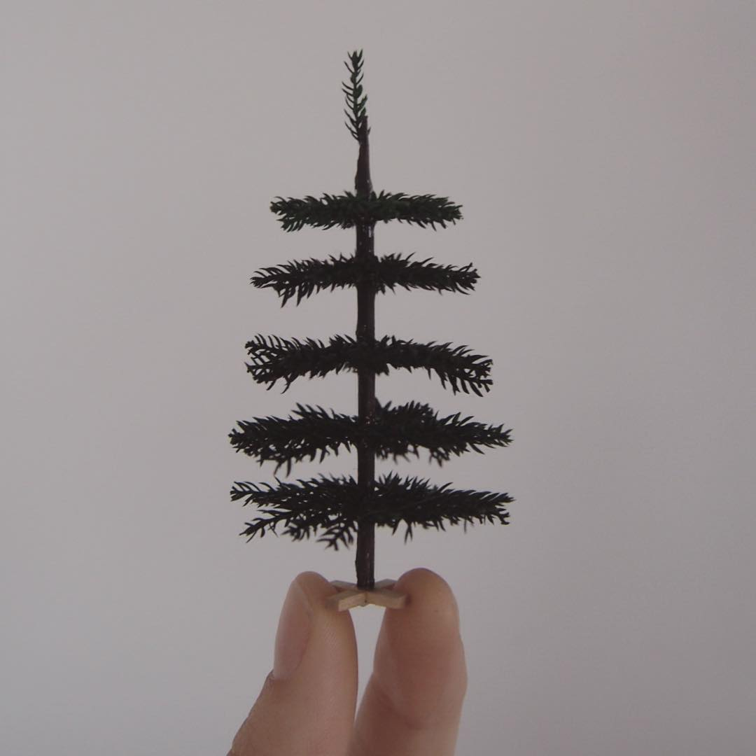 tree miniature sculptures by emily boutard