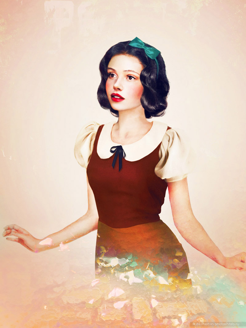 princess disney realistic paintings by jirka vaatainen