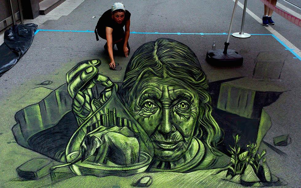 street art by vera bugatti art
