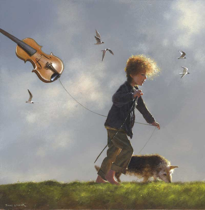 acrylic paintings by jimmy lawlor