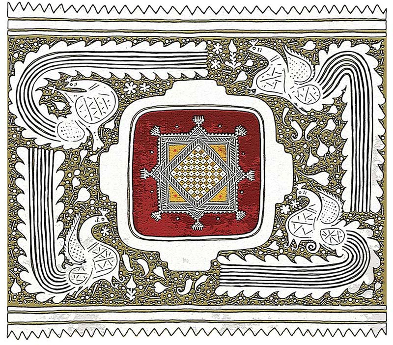 7 rajasthani folk art by lakhichandjain