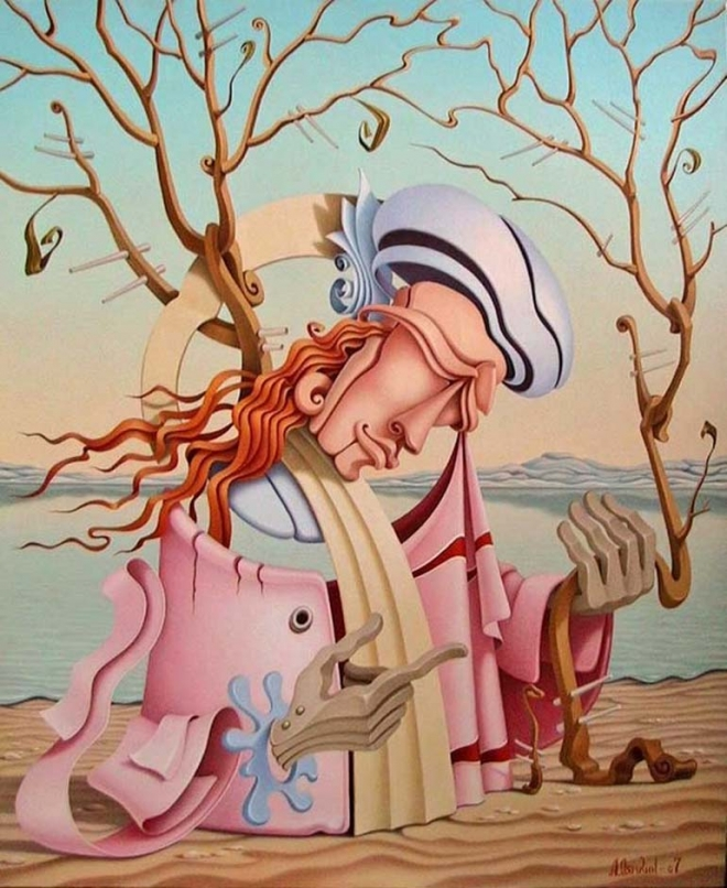 surreal painting lyamkin