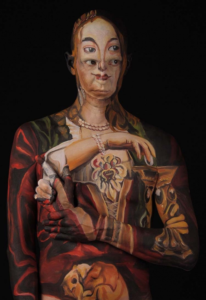 body painting chadwick