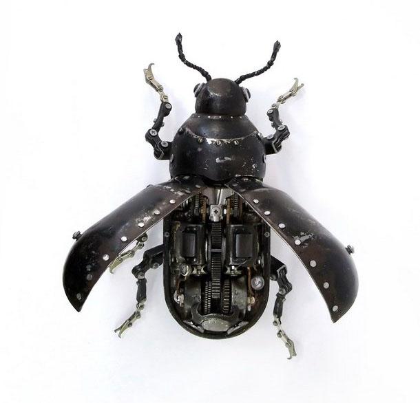 fly scrap sculptures igor