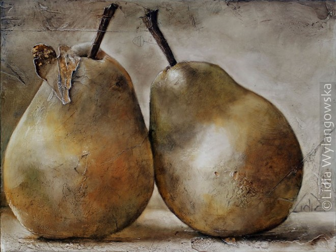 fruits oil painting lidia