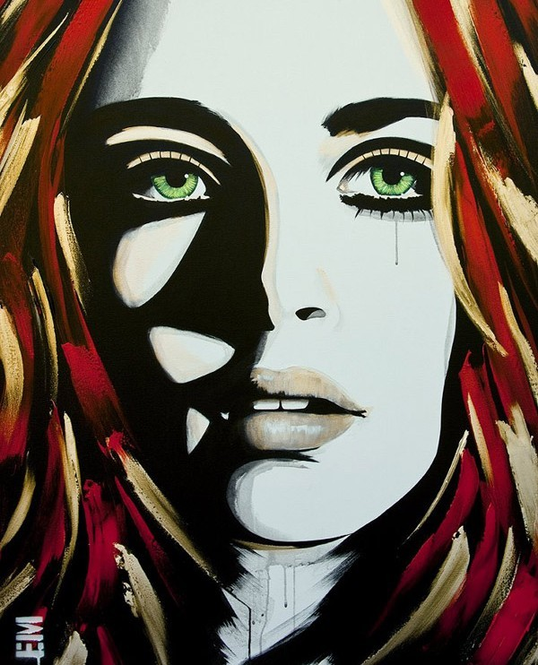green eyed girl emma sheldrake