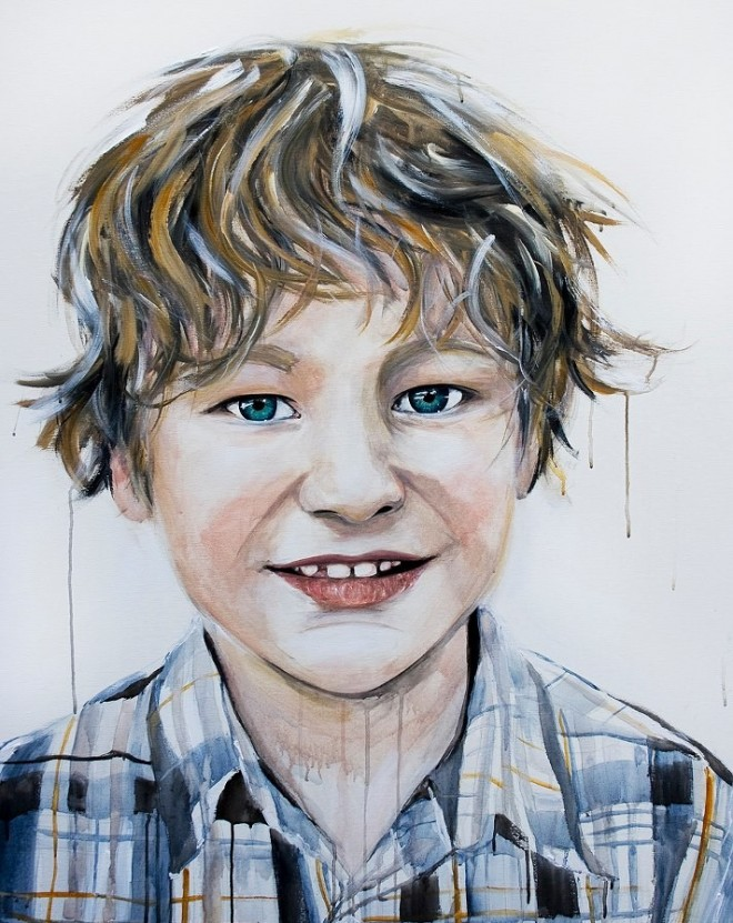 kid painting emma sheldrake