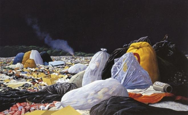 plastic oil painting tomás sánchez
