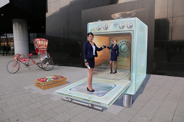 3d street wall art by rotterdam