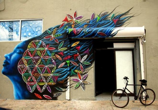 3d street wall