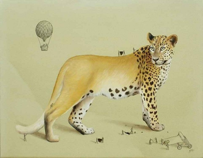 cheetah illustration ricardo solis