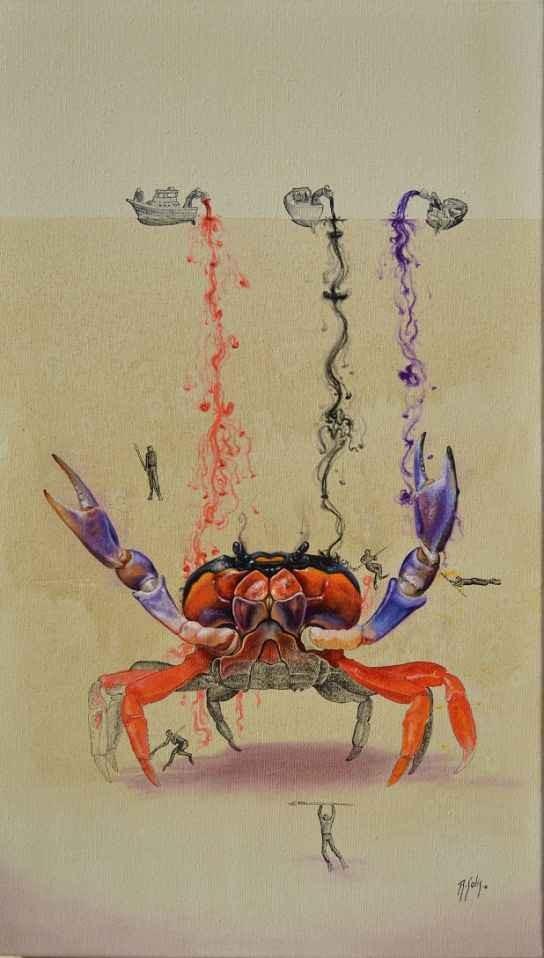 crab illustration ricardo solis