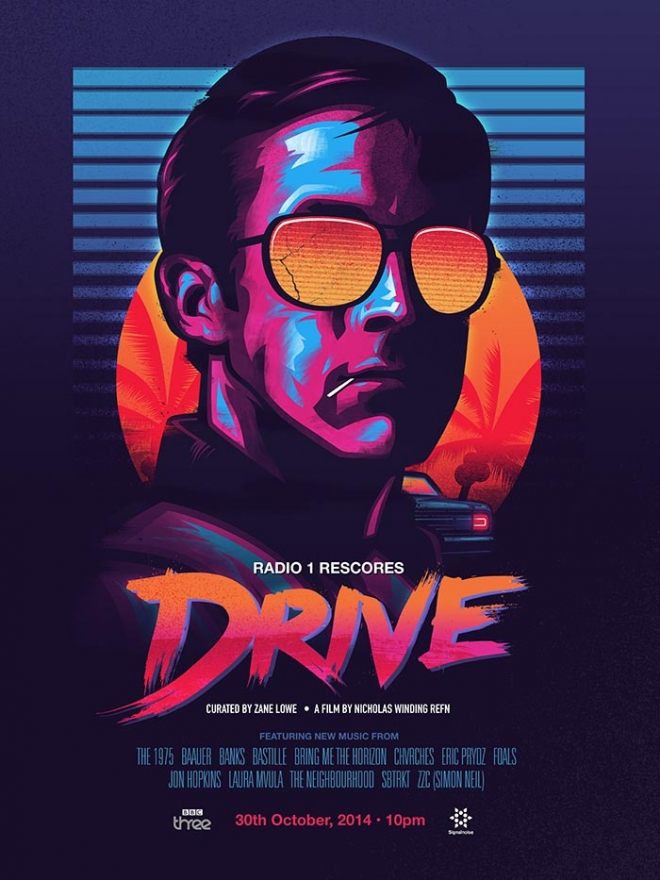 drive digital art james