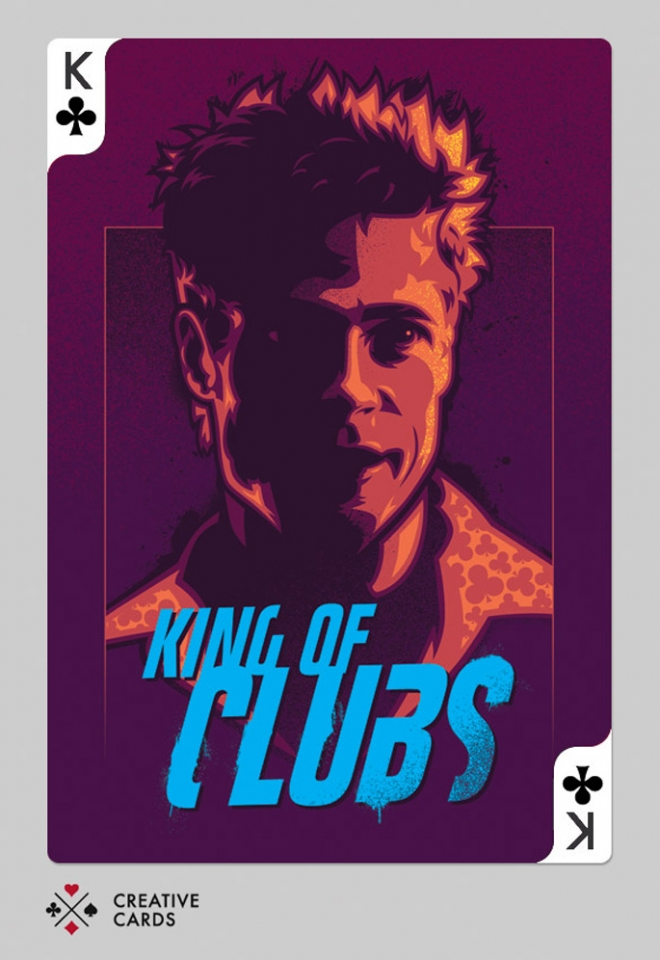 fightclub digital art james