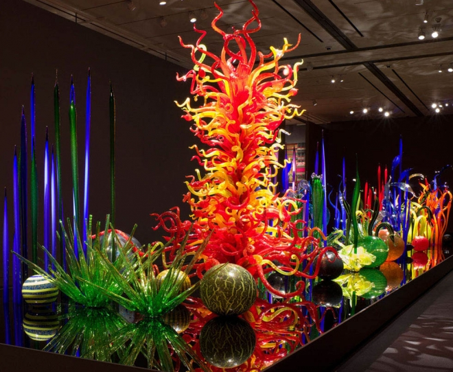 floor design architecture installation chihuly