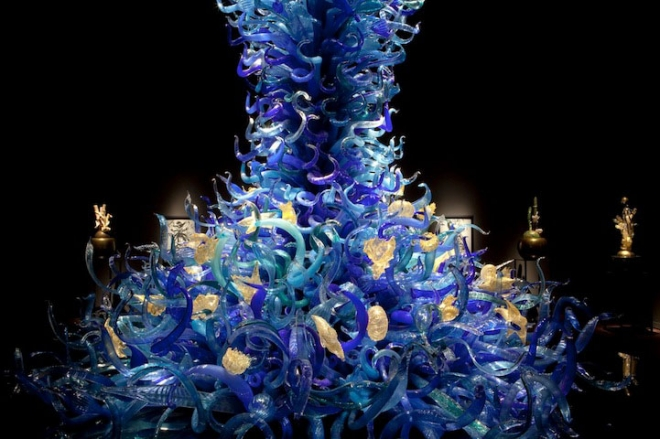 plant architecture installation chihuly