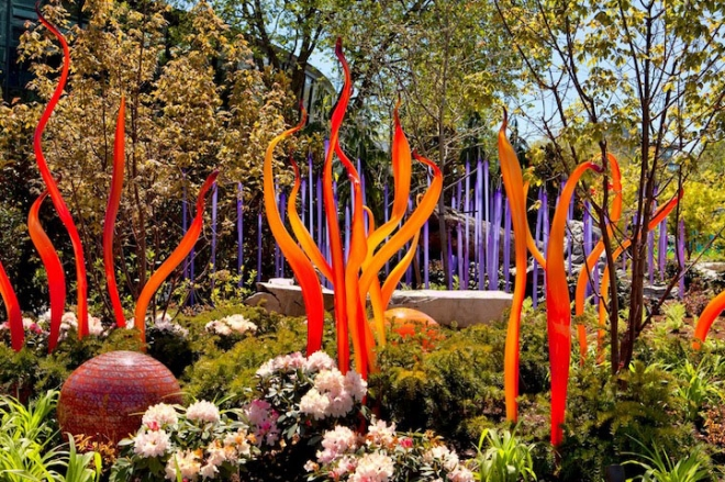 plant design architecture installation chihuly