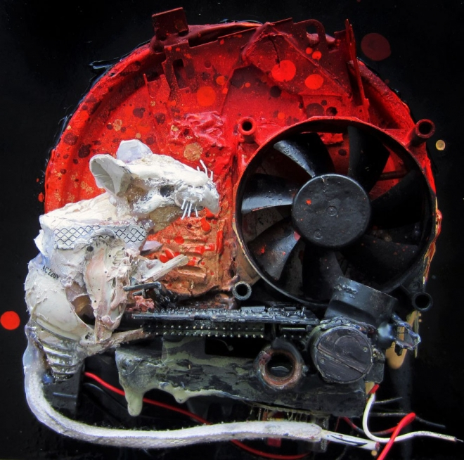 rat street art artur bordalo