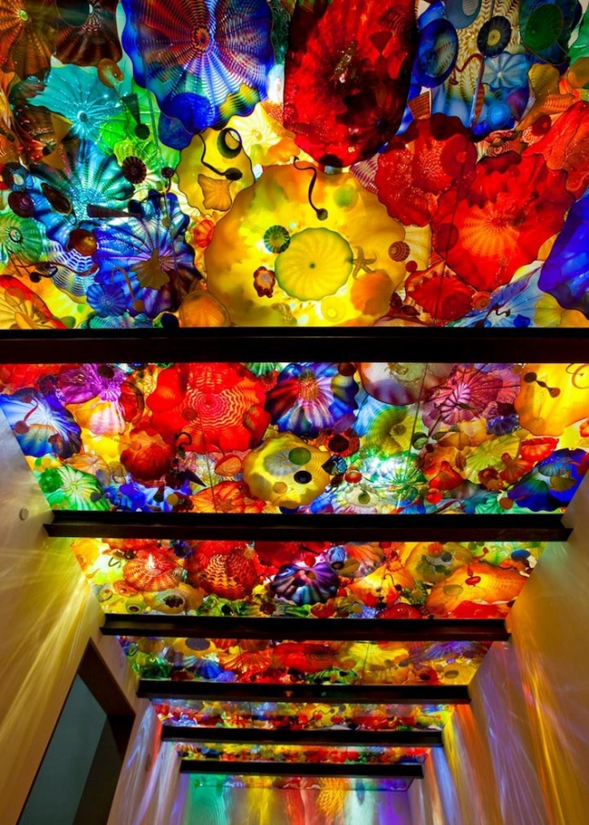 sealing wall architecture installation chihuly