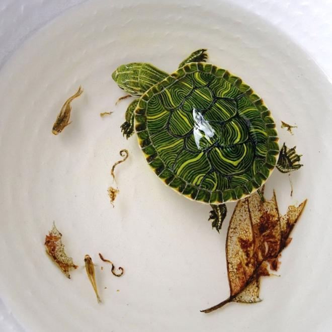 turtle layer painting keng lye