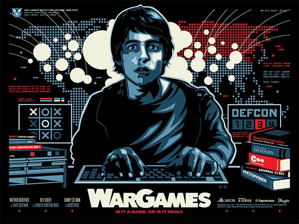 wargames digital art james